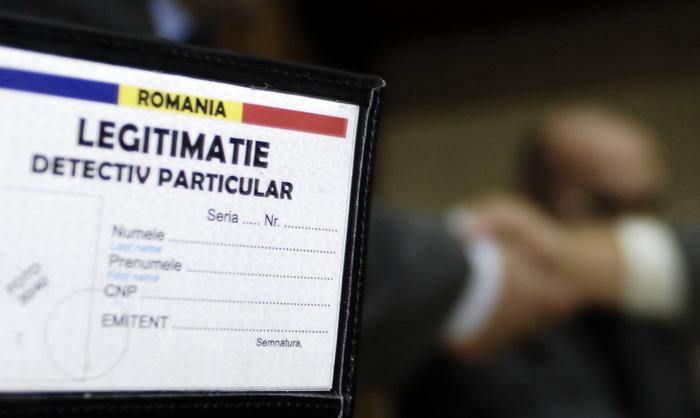 detectiv particular in romania